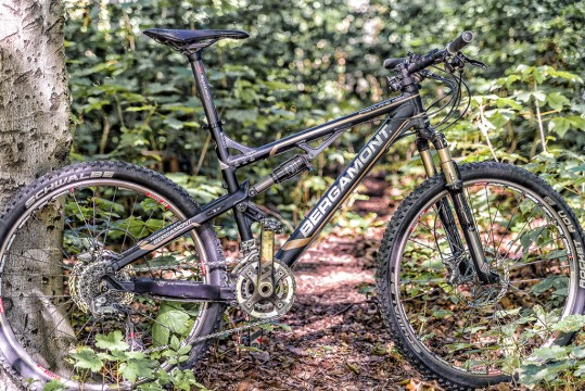Bergamont Fastlane MGN Full Suspension Marathon/ Cross Country
