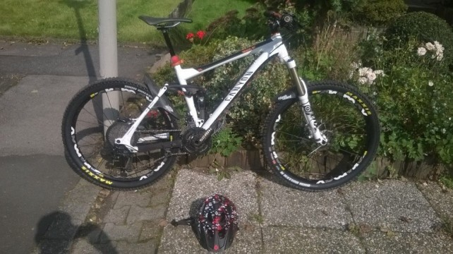 Canyon 2013 Nerve AL+ 9.0 Full Suspension Tour/ All Mountain