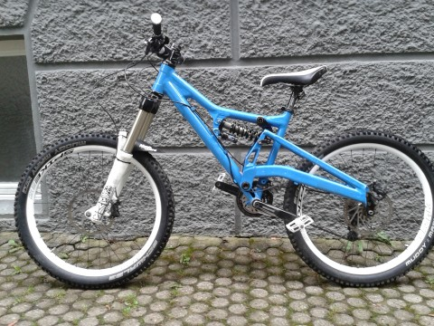 Cannondale Perp 2009 Full Suspension Downhill/ Gravity