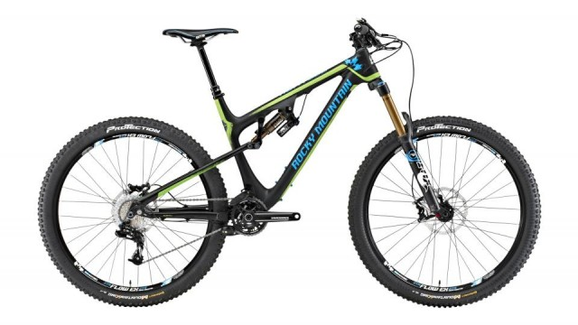 Rocky Mountain Altitude 770 MSL Rally Edition Full Suspension Enduro/ Freeride
