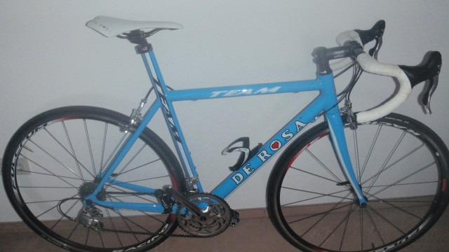 De Rosa Team 63 Sky Blue Rennrad Allround