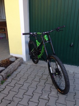 Spezialized Deno 2013 Rahmen Mountainbike Full Suspension
