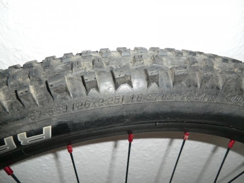 Fun Works / Ryde / Schwalbe S-Light Disc / Edge MC 1 / Racing Ralph, Rocket Ron Laufrad Komplett Mountainbike