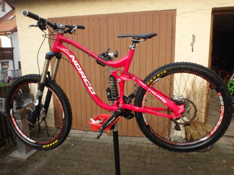 Norco Truax 1 Rahmen Mountainbike Full Suspension