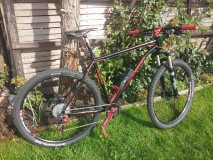 Poison E605 29 Rahmen Mountainbike Hardtail