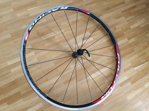 Fulcrum Racing 5 Evolution Laufrad Komplett Rennrad