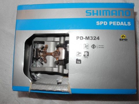 Shimano PD-M324 Klickpedale Mountainbike