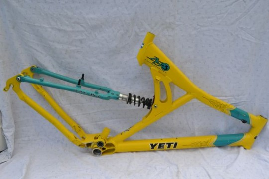 Yeti AS-3 Rahmen Mountainbike Full Suspension